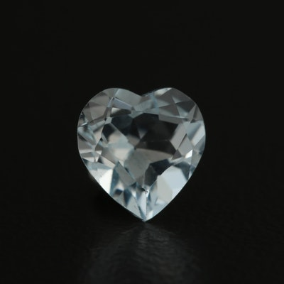 Loose 0.96 CT Aquamarine