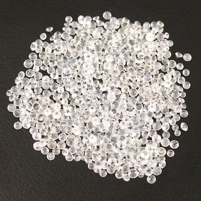 Loose 19.81 CTW Round Faceted Sapphires