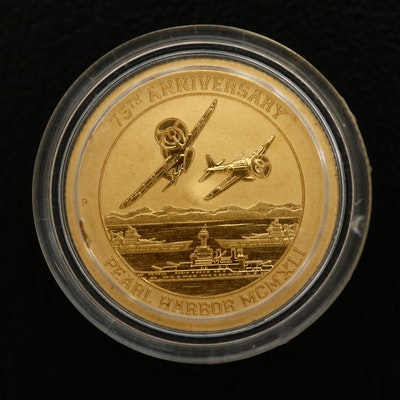2016 Tuvalu $15 75th Anniversary of Pearl Harbor Commemorative Coin