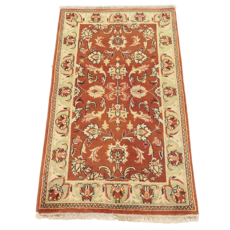 2'10 x 5'1 Hand-Knotted Indo-Persian Tabriz Rug