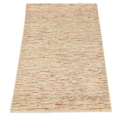 4'0 x 5'9 Hand-Knotted Afghani Gabbeh Rug
