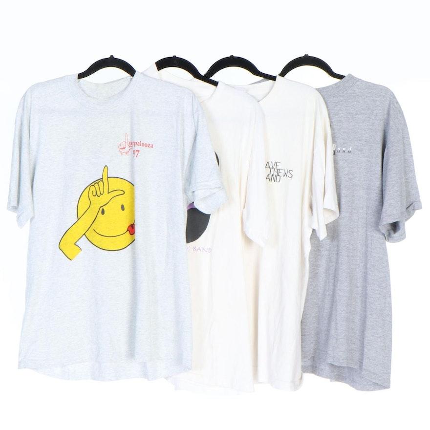 Dave Matthews Band and Loserpalooza '97 and '98 T-Shirts