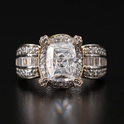 Verragio Sterling Silver Cubic Zirconia Ring