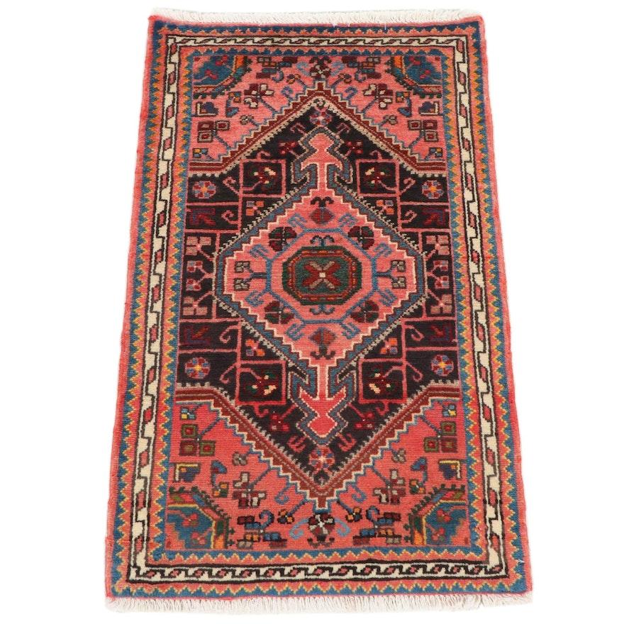 2'1 x 3'5 Hand-Knotted Persian Hamadan Rug