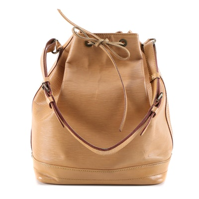 Louis Vuitton Noé Bucket Bag in Tan/Cannelle Epi Leather