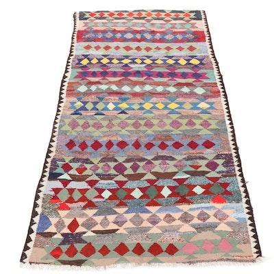 5'7 x 10'3 Handwoven Persian Kilim Rug