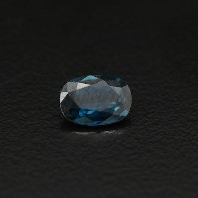 Loose 0.70 CT Cushion Cut Sapphire