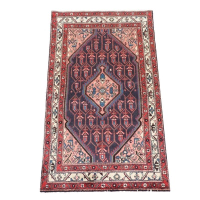 3'4 x 6'0 Hand-Knotted Persian Hamadan Rug
