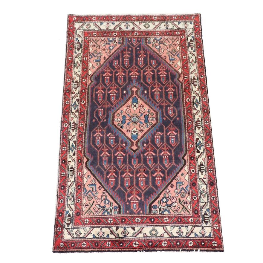 3'4 x 6'0 Hand-Knotted Persian Hamadan Rug