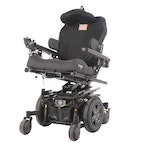 Pride Mobility Quantum Q6 Edge Power Chair and UPG Automatic Battery Charger