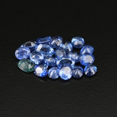 Loose 6.57 CTW Oval Faceted Sapphire