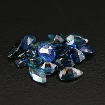 Loose 5.90 CTW Mixed Cut Sapphire