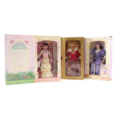 Mattel Avon Exclusive Edition Barbie Dolls in Original Packaging, 1990s