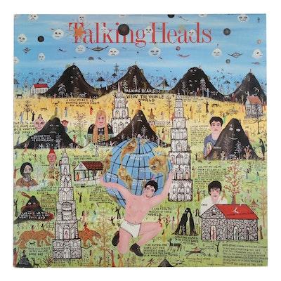 "Talking Heads ""Little Creatures"" Vinyl Record, 1985"