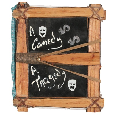"Bill Woodrum Folk Art Book ""A Comedy A Tragedy"""