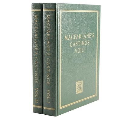 "1992 Facsimile Reprint of ""Illustrated Catalogue of Macfarlane's Castings"""
