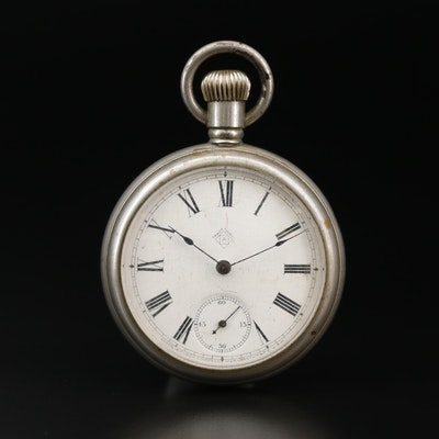 Antique Ansonia Clock Company of N.Y. Pocket Watch