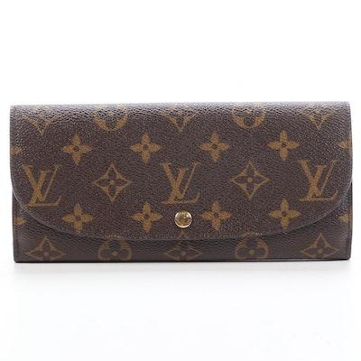 Louis Vuitton Louise Wallet in Monogram Canvas
