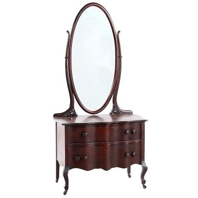 Colonial Revival Mahogany Dresser