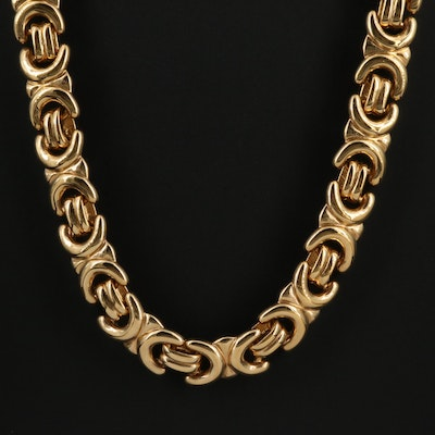krementz Fancy Link Necklace