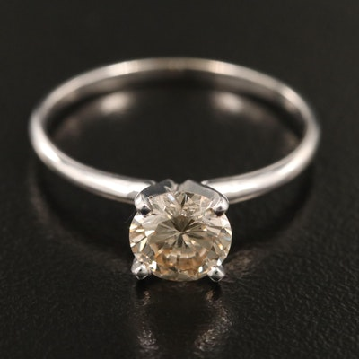 14K 1.09 CT Diamond Solitaire Ring