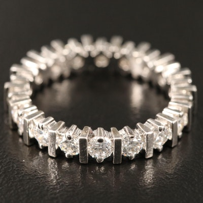 14K 1.50 CTW Diamond Eternity Band