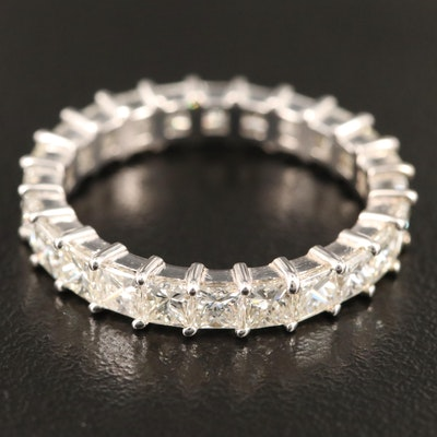 18K Gold 2.50 CTW Diamond Eternity Band