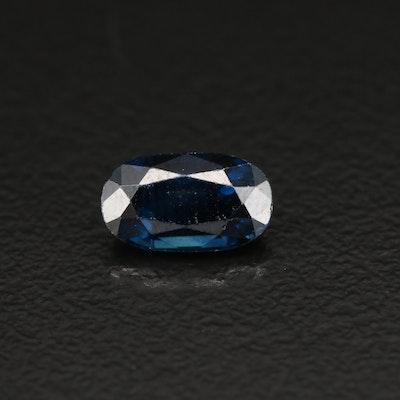 Loose 1.26 CTW Sapphire