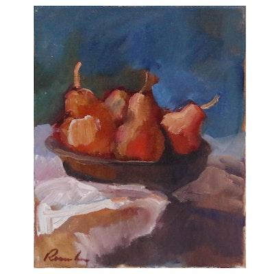 Sally Rosenbaum Still Life Oil Painting