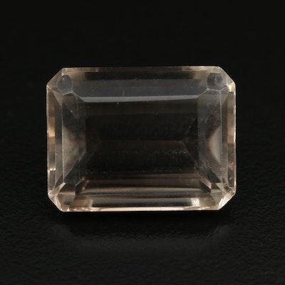 Loose 21.21 CT Smoky Quartz