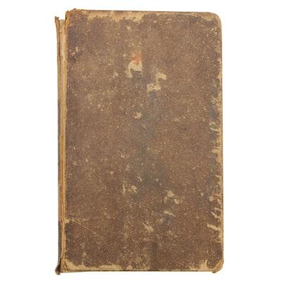 "1834 ""Memoirs of Benjamin Franklin"" Written by Himself, Volume I of II"