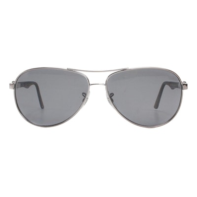 Ray-Ban RB8313 Black Carbon Fibre Polarized Prescription Sunglasses with Case