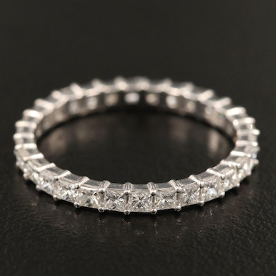 18K 1.51 CTW Diamond Eternity Band