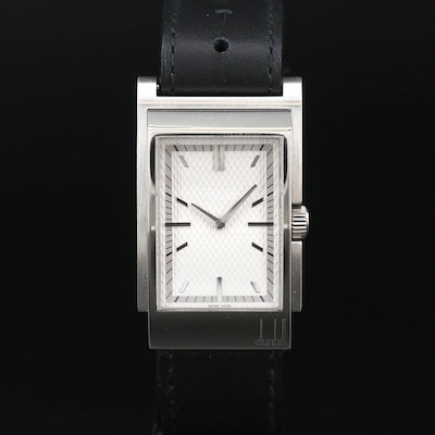 Dunhill Stainless Steel Quartz Wristwatch