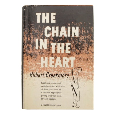"Signed First Printing ""The Chain in the Heart"" by Hubert Creekmore"