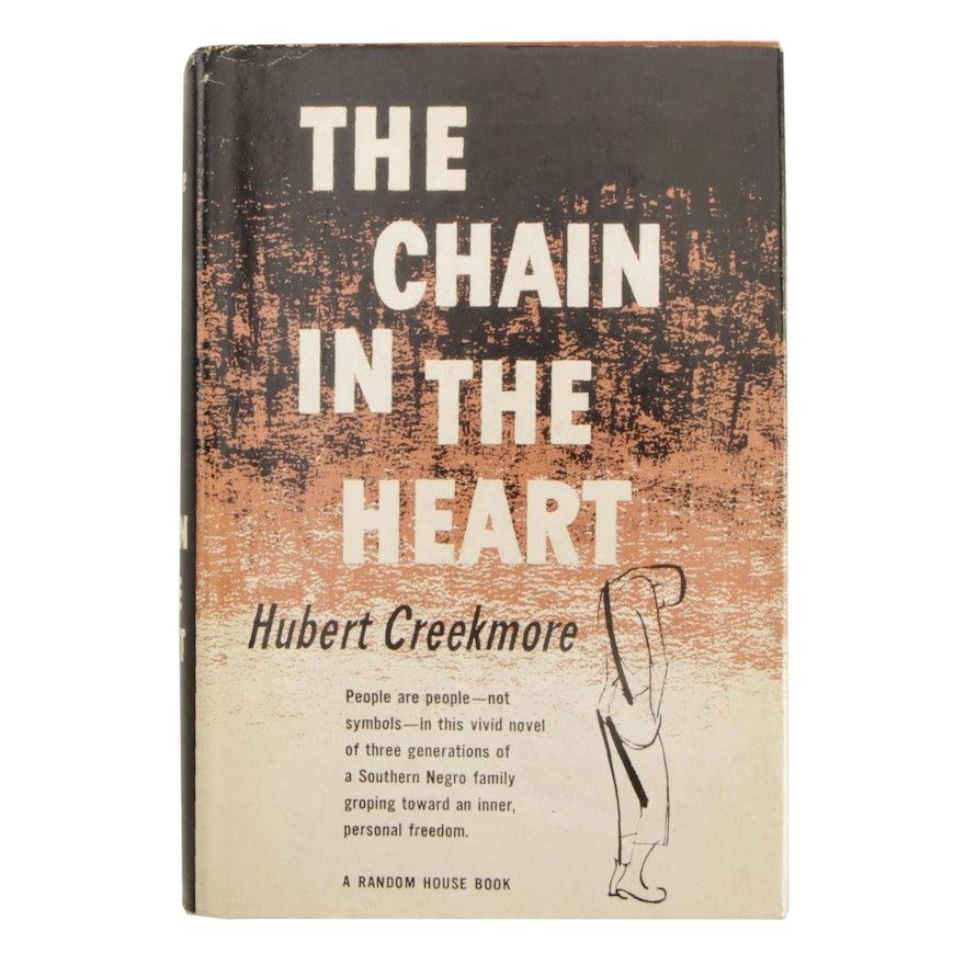 """Signed First Printing """"The Chain in the Heart"""" by Hubert Creekmore"""