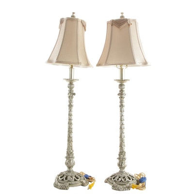 Baroque Revival Style Table Lamps, Mid to Late 20th Century