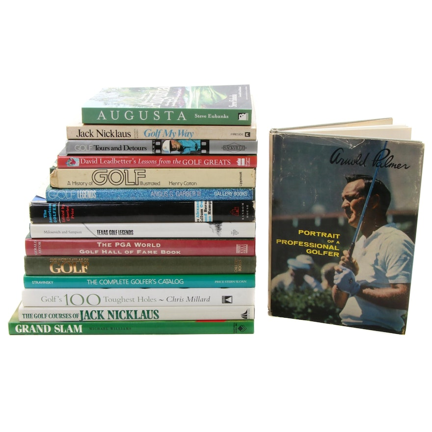 Golf Biographical and Historical Book Collection