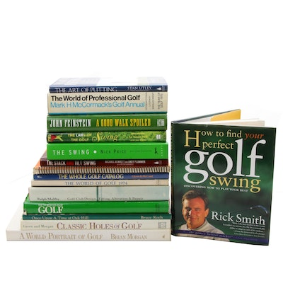 How to Improve Your Golf Game Book Collection