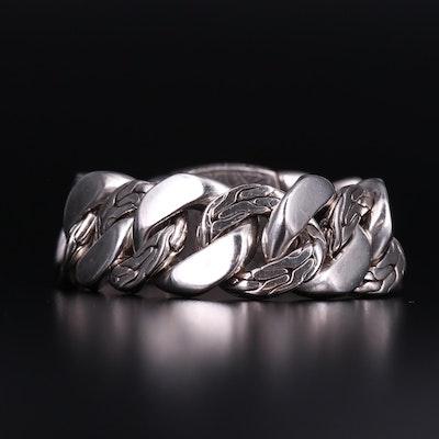 John Hardy Sterling Silver Large Curb Link Bracelet