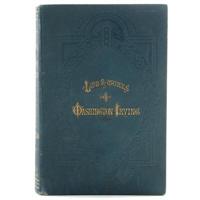 """1883 """"The Works of Washington Irving"""", Volume III"""