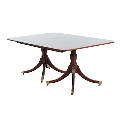 "Baker ""Historic Charleston Reproduction"" Mahogany Dining Table"