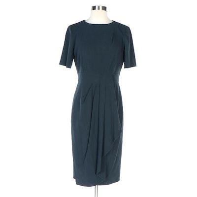 Armani Collezioni Dark Midnight Blue/Black Work to Evening Dress