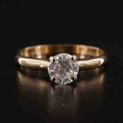 14K 0.79 CTW Diamond Ring