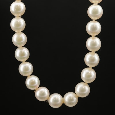 14K Pearl Opera Length Necklace