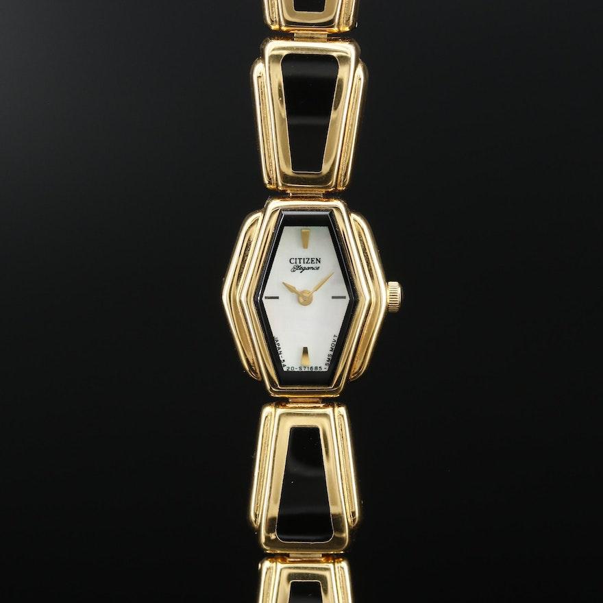 Citizen Elegance Mother of Pearl Dial Quartz Wristwatch