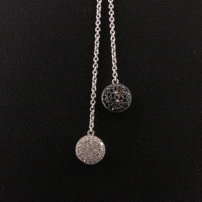 18K Gold 1.52 CTW Diamond Negligee Necklace