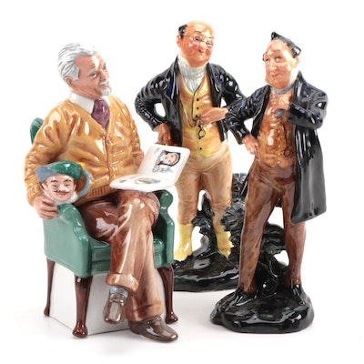 "Royal Doulton Bone China Figurines Including Limited Edition ""Pride and Joy"""