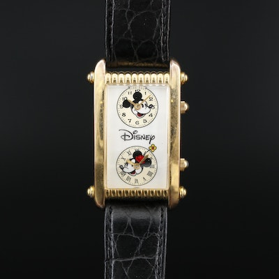 Mickey & Minnie Dual Dial Disney Wristwatch
