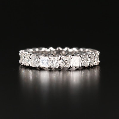 18K Gold 2.45 CTW Diamond Eternity Band